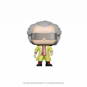 Funko Pop! Vinyl Back to the Future Doc 2015 Figure - Pre-Order
